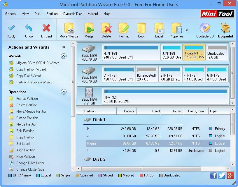 étape 3 Comment utiliser le gestionnaire de partition
