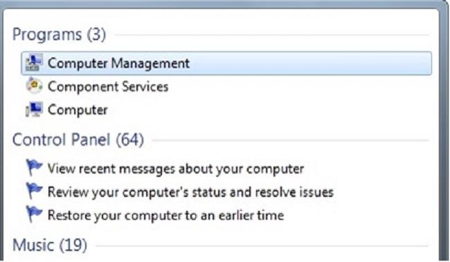 étape 1 masquer une partition dans le Windows