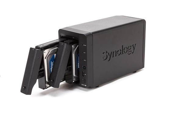 Les plus gros disques durs externes: Synology