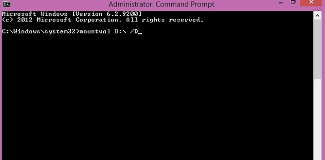étape 2 masquer une partition dans Windows 10