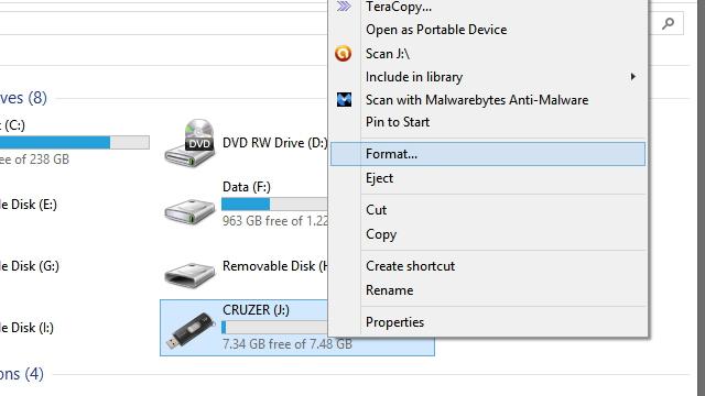 comment formater un disque dur externe ?