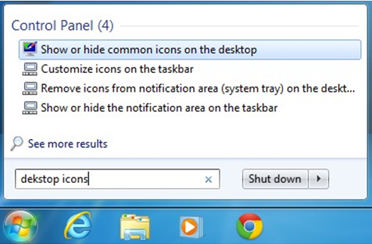 show recycle bin windows