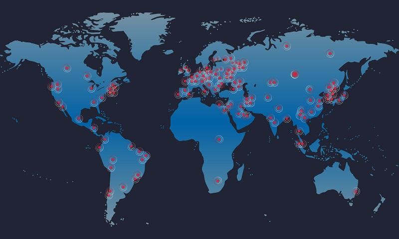 Wannacrypt spreads fast around the world