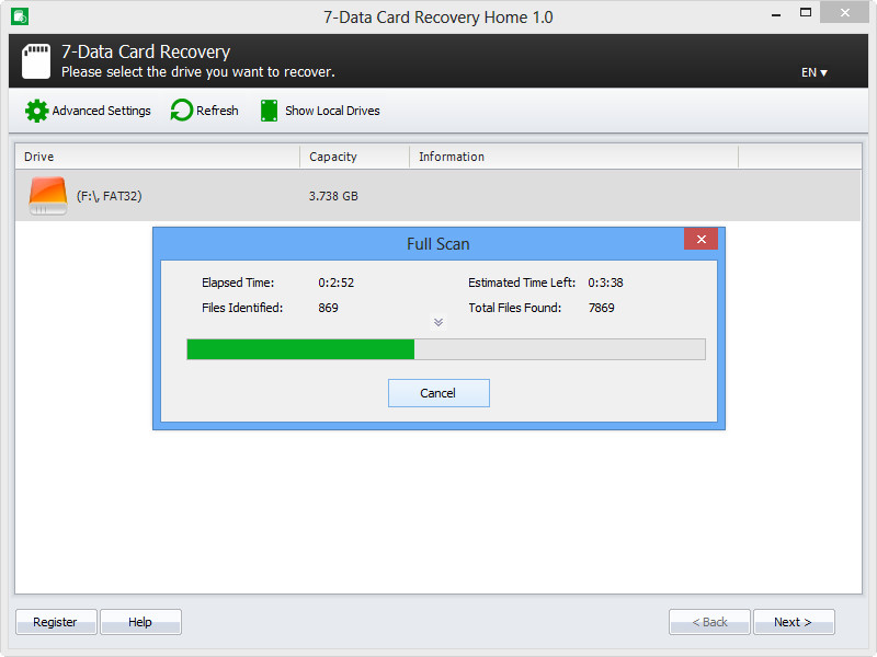 best free SD card recovery software-7 sd card data recovery