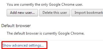 Gmail password cracker from browser-select advanced settings