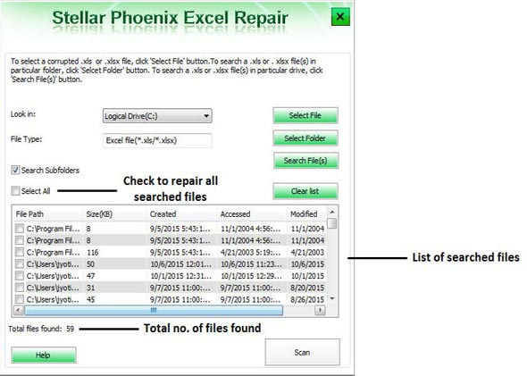 fix Microsoft excel error step 2