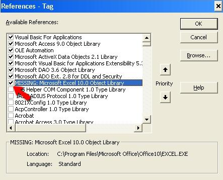 How to Repair Excel File Can't find project or library Error