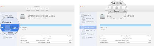 MacOS Sierra auf einer externen Festplatte installieren Schritt 3