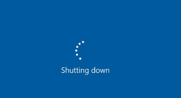 What if PC won't shut down?