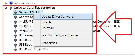 fix USB not recognized by Windows issue