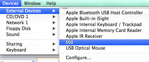 USB not recognized by Mac
