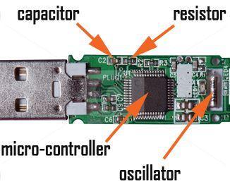Recuperación de flash drive