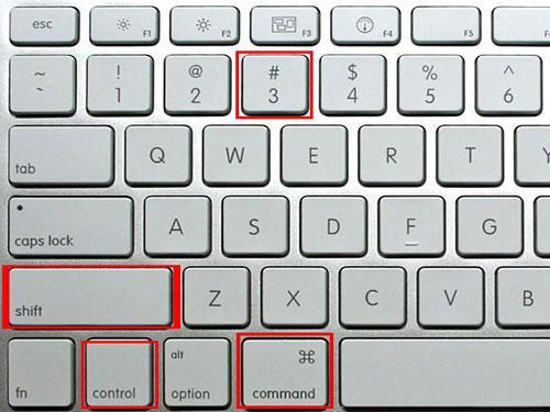 Wie Sie Screenshots eines ausgewählten Bereichs auf dem Mac aufnehmen