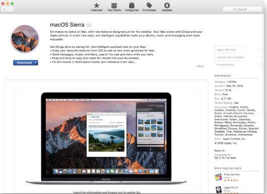 Cómo Instalar MacOS Sierra en un Disco Duro Externo