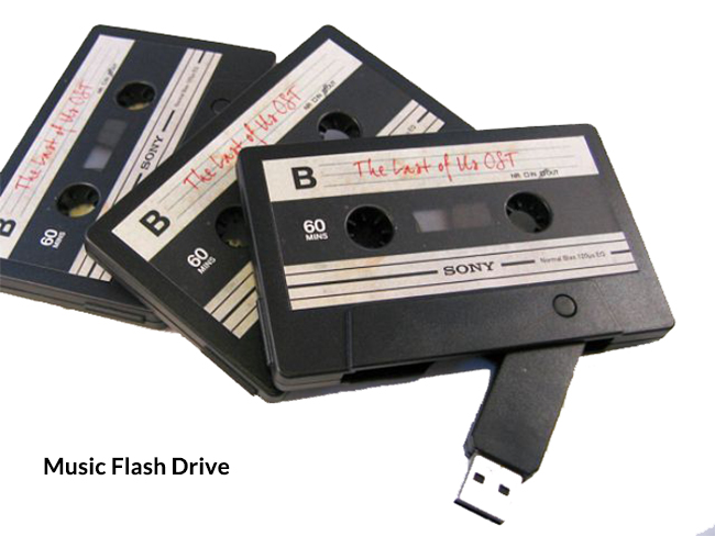 Different Types of USB Drive-music flash drive