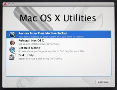 Restaurar Mac con la Ayuda de Recovery HD
