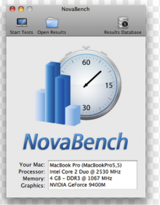 Hard Drive Test for Mac- Nova Bench-1