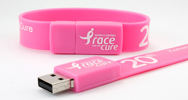 Different Types of USB Drive-wristband usb flash drive