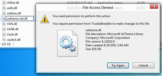 Solve Access Denied Error: 1