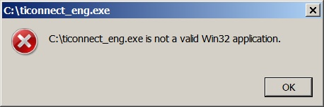 How to Resolve Not a Valid Win32 Application Error