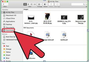 How to deleted downloaded files on Mac