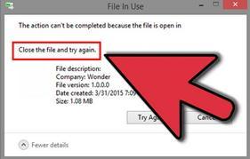 Excluir arquivos a partir de qualquer dispositivo