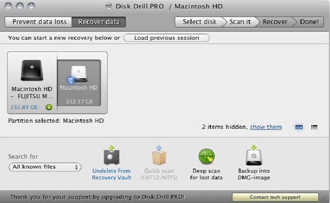 free data recovery software for macbook air