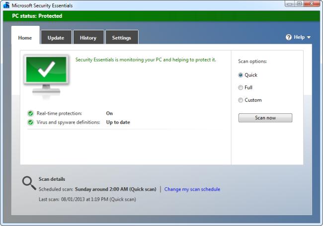 Clear viruses to fix blue screen 0x0000001e