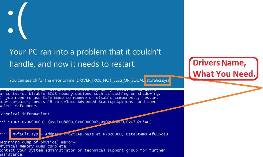 update driver to fix bluescreen 0x000000d1 error