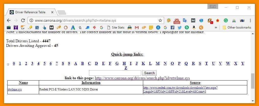 fix corrupted driver to fix bluescreen 0x000000d1 error