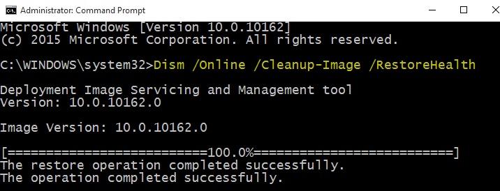 Run system checker to fix bluescreen 0x000000d1 error
