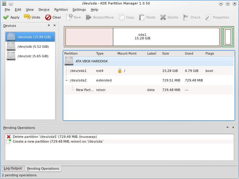 partition manager 10