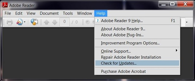 Adobe-Reader-Check-for-Updates