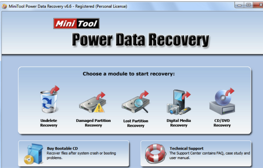 Power data recovery full version | MiniTools Power Data