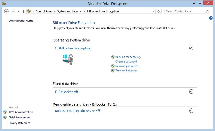 BitLocker Encrypted Drive