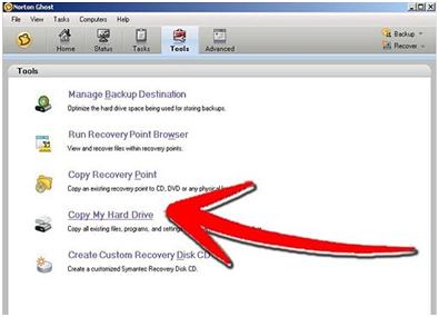 clone hard drive step 4