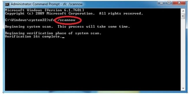step 3 Windows utility check to fix blue screen 0x00000109