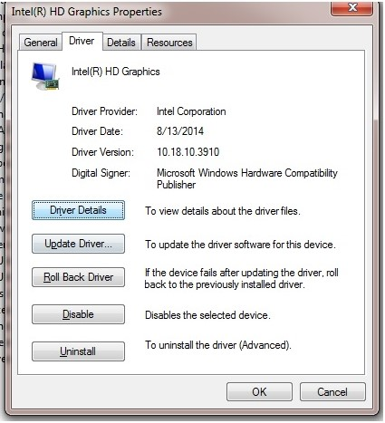 Uninstall and reinstall drivers to fix blue screen bccode 1a