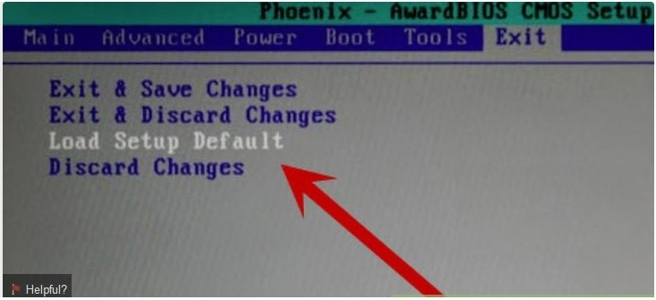 clear existing BIOS settings to fix Blue Screen STOP 0x00000014 Error