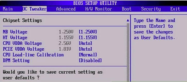 configure BIOS settings to fix Blue Screen STOP 0x00000014 Error