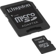 kingston memory card recovery