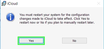 configurar icloud en windows 3