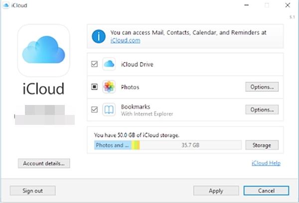 configurar icloud en windows 6