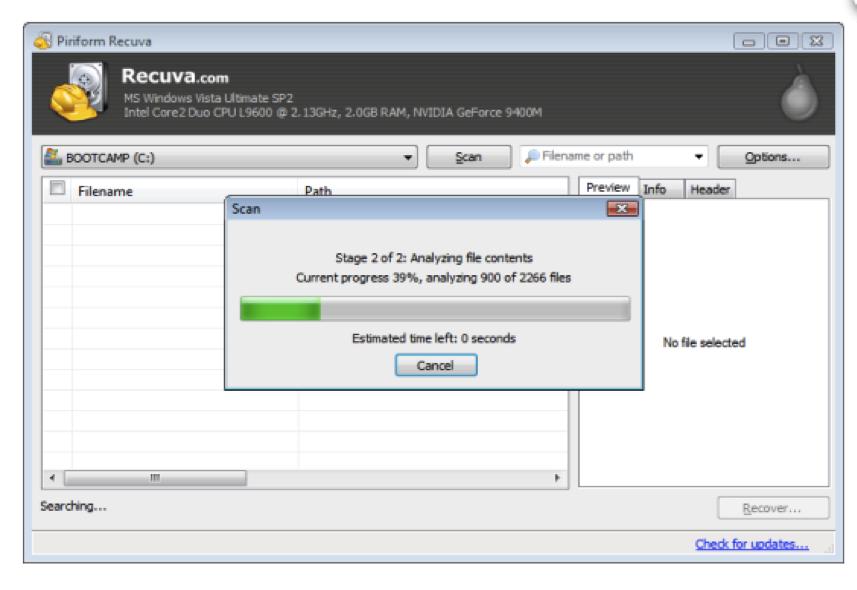 recuperar documento word 2007 com Recuva Document Recovery Software