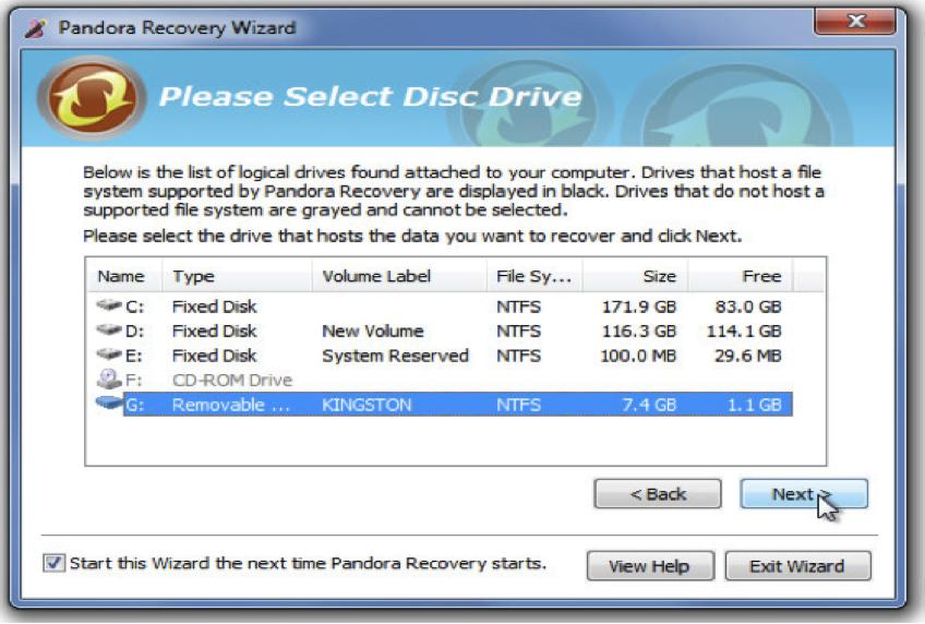 como recuperar documentos apagados com Pandora Document Recovery Software
