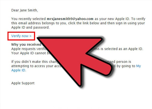 Reset Apple ID Email
