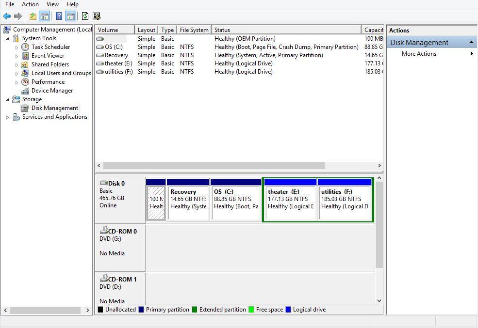 format corrupted hard disk step 3