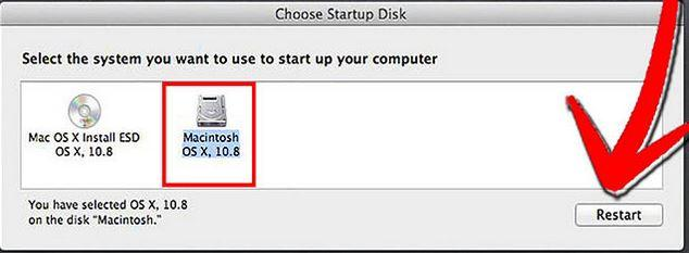 repair hard disk with disk utility step 5