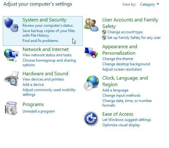 backup data to external hard drive step 1