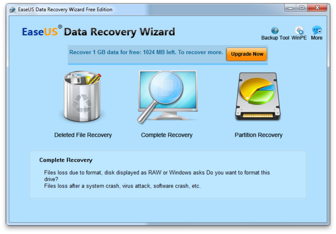 SD Card Recovery Software - Ease Us data recovery